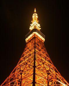 東京に来たらココは外せない、ビジターには決まって案内する東京タワー