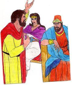Elías anuncia el mensaje de Dios Bible Stories, Flannel, Characters, Scrapbook, Club, Painting, Inspiration, Art, Visual Aids
