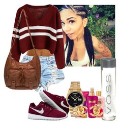 """""""Burgundy"""" by prettywoes ❤ liked on Polyvore"""