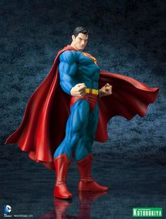 The Man of Steel stands ready to defend the planet with the DC Comics Superman for Tomorrow ArtFX Statue. Superman Artwork, Batman Y Superman, Superman News, Superman Figure, Batman Robin, Comic Book Characters, Comic Character, Comic Books Art, Anime Figures