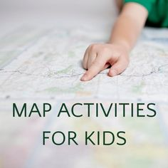 Super simple map activities for kids that teach map skills and spatial reasoning as well as help kids learn geography. Teaching Map Skills, Teaching Maps, Learning Resources, Kids Learning, Map Activities, Activities For Kids, Treasure Hunt Games, Life Skills Lessons, Map Games