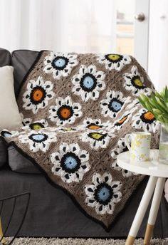 Free City Solarium Throw Crochet Pattern