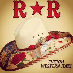 0e913c4e41bb0 Red Star Riggings - cowgirl tattoo hat. Western Cowboy Hats