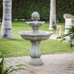 Belham Living Pina 3 Tiered Solar Fountain - HAY12803