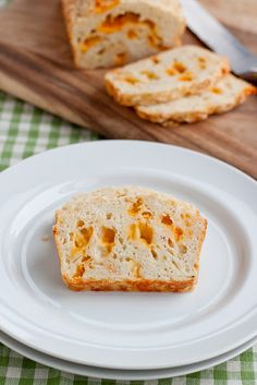 Lighter Cheesy Garlic Bread