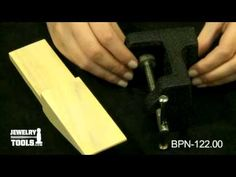 BPN-122.00 - Bench Pin and Anvil - Jewelry Making Tools Demo - mysilverjewelry.o...