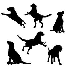 Image result for dog silhouette