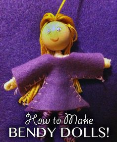 Waldorf Bendy Pipecleaner Doll