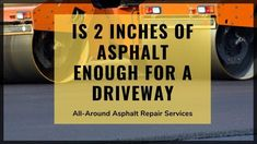 Asphalt is the best and cost-effective material for driveway paving. >>> This detailed guide will let you know about the Asphalt Paving Thickness that can be considered when getting a new driveway. Asphalt Driveway, Driveway Paving, Asphalt Repair, Good Things, Let It Be, Canning, Driveway Pavers, Home Canning, Conservation