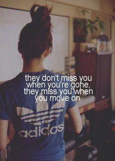 Moving on is the best revenge