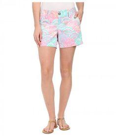 Lilly Pulitzer - Callahan Shorts (Multi Oh Shello Small) Women's Shorts