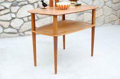 Vintage Peter Hvidt Teak Coffee Table by France & by HouseofSeance