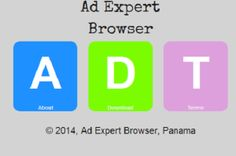 Ad Expert Browser is an adware program that comes in the computer silently together with free downloads.