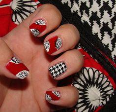 Vera Bradley Deco Daisy Nails