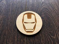 Vidrio De Super Héroe De Marvel Iron Man Tabla de Cortar Picar Regalo Personalizado Geek