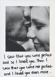 #love #perfect #acceptance #imperfections #quotes