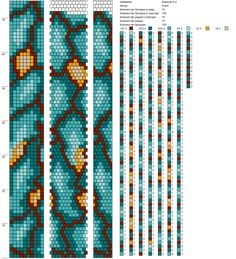 10 around tubular bead crochet rope pattern Bead Crochet Patterns, Bead Crochet Rope, Beading Patterns, Crochet Beaded Necklace, Beaded Necklace Patterns, Diy Jewelry Inspiration, Bead Loom Bracelets, Beaded Crafts, Loom Beading