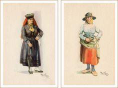 Postais Ilustrados Alberto de Sousa 1 e 2