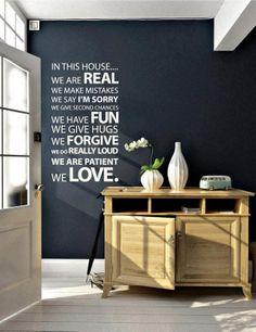 Deze tekst is ook terug te vinden op onze borden.  www.happy-home.nl