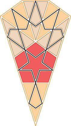 construction and tessellation methods  Islamic geometric design