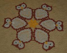Virka Uggla - Owls Doily Pattern