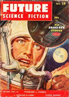 I love Sci Fi Covers!