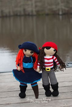 Pirate Penelope pattern by Defy Society Arts