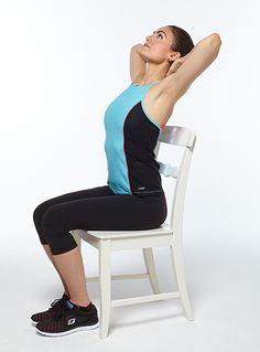 The thoracic region that connects to your ribs is rarely stretched.  Complete this easy arch to strengthen your spine and prevent upper-back pain.