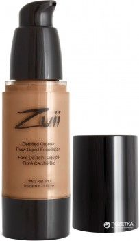 Тональная основа Zuii Organic Flora Liquid Foundation 30 мл Natural Beige (812144012272)