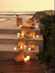 candles and luminaries