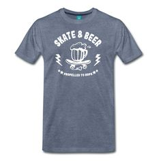 planche de skateboard et bière... skate and beer ! Shirt Shop, T Shirt, Tees, Mens Tops, Shopping, Fashion, Skateboards, Supreme T Shirt, Moda
