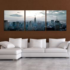 "Empire State Of Mind (20""L x 20""W)"