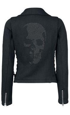 Skull Sweat Jacket by Rock Rebel ~ EMP