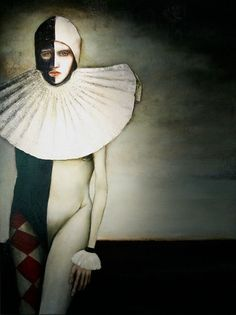 Kai Fine Art is an art website, shows painting and illustration works all over the world. Mural Painting, Cool Paintings, People Illustration, Illustration Art, Kai, Pierrot Clown, Modern Surrealism, Weird Art, Museum Collection