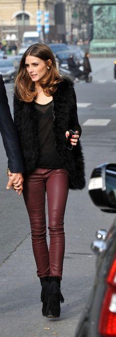 Burgundy is THE colour this Autumn/Winter Season!  www.iovich.com  #WinterFashion #WinterStyle #OliviaPalmero