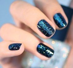 """Nail Art - """"O Children of Adam, Wear your beautiful apparel at every time and place of prayer: eat and drink: but wast not be excess, for Allah loveth not the wasters."""" Surah Araf, 31"""