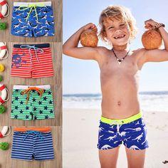 767da85514 2018 new Kids Boy summer beach Swimwear short pants kids boys outfits  gentleman New Kids,