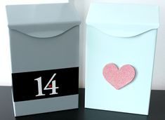 Valentine's Day Mailbox for a boy {Just a Girl Blog}