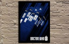 "Bigger On The Inside [Dr Who] by Tracie Ching 18""x24"""