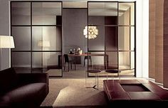 House exterior and interior design with glass is beautiful, stylish and versatile