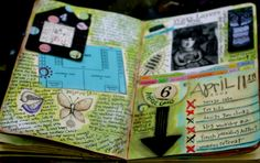 Art Journaling, it might just help me keep a journal.