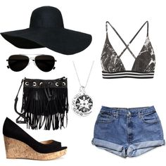 Summer by sudachikotarou on Polyvore featuring polyvore, fashion, style, Norma Kamali, H&M, Deux Lux, Calvin Klein, Summer, swim, summerstyle and summer2015