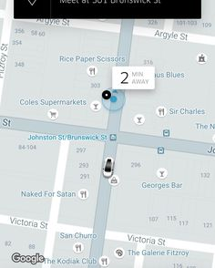 We Ubered in and out of Fitzroy at half the price of a taxi. I can track the drivers distance to my local they follow up with a call so we can rendezvous in busy Brunswick Street they use Sat. Nav. So don't have to give directions. Payment comes directly out of my credit card I can rate the driver and the trip. Plus I practiced my Hindi with the driver.