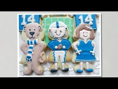 Flour Box Bakery — How To Decorate a Football Player Cookie