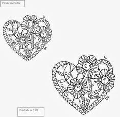 "Photo from album ""Неразобранное"" on Yandex. Freeform Crochet, Crochet Motif, Irish Crochet, Crochet Patterns, Bobbin Lacemaking, Embroidery Cards, Bobbin Lace Patterns, Lace Heart, Point Lace"