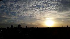Good night sun. Good night layers of sky