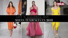 los 5 colores que serán tendencia en 2018