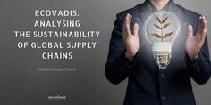 EcoVadis: Analysing the sustainability of global supply chains