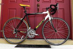 A racing bike.