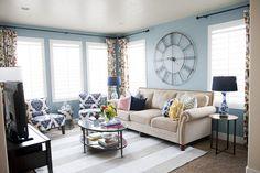 A rug on carpet!!!  6th Street Design School | Kirsten Krason Interiors : Projects